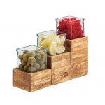 Madera Single Jar Risers