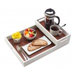 Stackable Two-Tone Trays