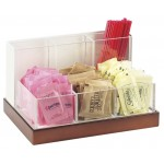 Luxe Condiment and Stir Stick Organizer