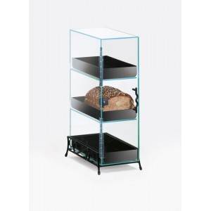 Classic 3 Tier Bread Case