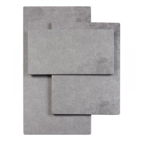 Rectangle Faux Cement Serving Platters