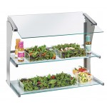 Two-Tier Merchandiser Salad Display