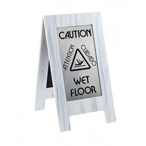 Whitewash Wet Floor Sign