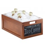 Chalkboard Crate Ice Housings