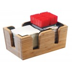 Bamboo Bar Caddy