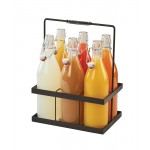 6 Glass Pitcher Caddy