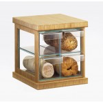 Bamboo 4 Drawer Bread Case