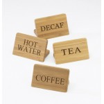 Bamboo Beverage Signs