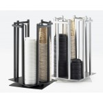One by One Revolving Cup/Lid Organizer