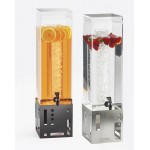 Squared Acrylic Beverage Dispensers