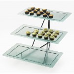 Glacier Rectangle Tray Display